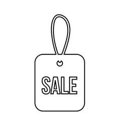 Sale tag isolated icon design vector