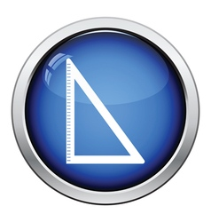 Icon of triangle vector
