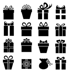 gift set2 vector image vector image
