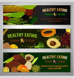 Healthy food vitamin b9 vector