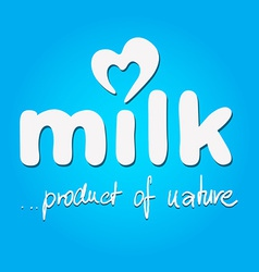 Milk - logo vector