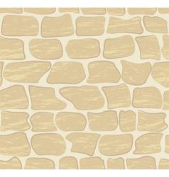 stone wall vector image vector image