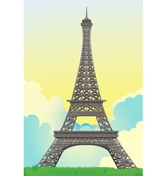 Eiffel tower vector