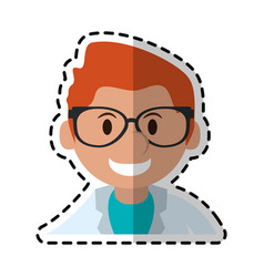medical doctor icon image vector image
