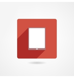 Ipad icon vector