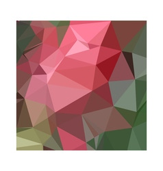 Congo pink abstract low polygon background vector