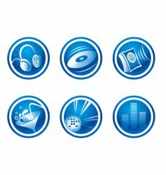 Set of party web icons vector