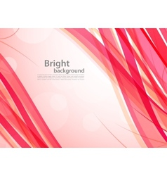 Bright pink background vector image