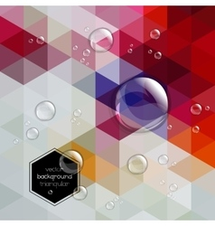 Abstract defocused background with transparent vector