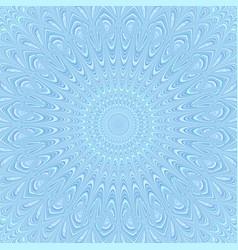 Bohemian mandala ornament background - round vector