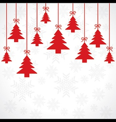 Creative greeting card for merry christmas vector