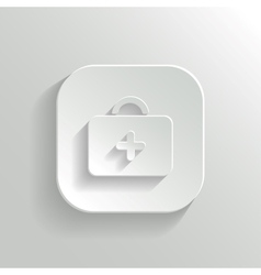 First aid Medical Kit icon vector image