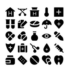 Health icons 2 vector