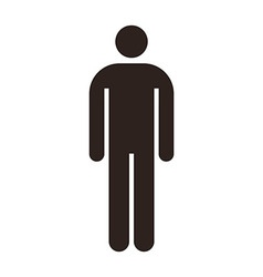 Man icon vector