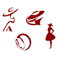 Fashion signs vector