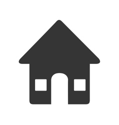 Real estate business icon vector