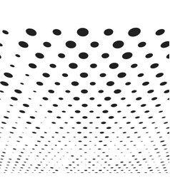 halftone background template vector image vector image