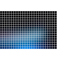 Deep and pale blue square mosaic background over vector