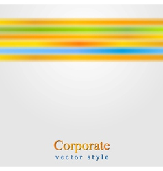 Glowing smooth stripes design vector image