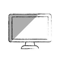 TV screen technology vector image vector image