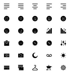 Universal Mobile Line Icons 3 vector image