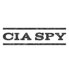 Cia spy watermark stamp vector