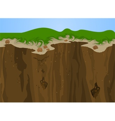 Cliff nature vector