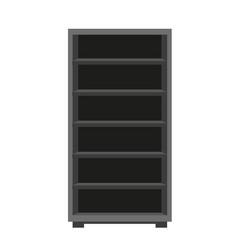 dark wooden furniture vector image