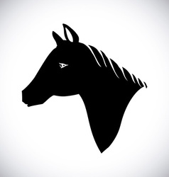 Horse design vector image vector image