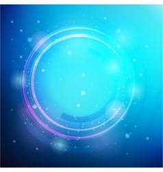 round frame Shining circle banner vector image