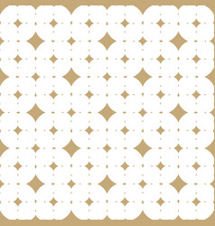 subtle white and gold seamless pattern vector image