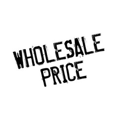 wholesale price rubber stamp vector image vector image