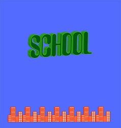 school-01 vector image