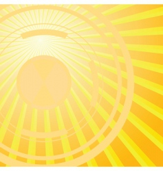 abstract solar background vector illustration vector image