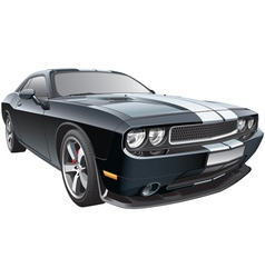 American pony car vector image