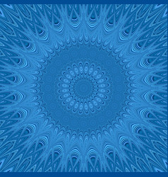 Mandala star fractal ornament background - vector