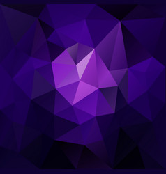 polygonal square background blue purple vector image vector image