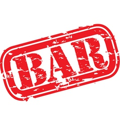 Bar stamp vector