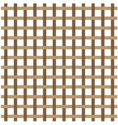 brown weave vector image