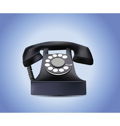 Telephone isolated vector