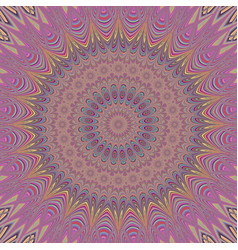 Abstract bohemian mandala star background - vector