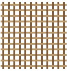 brown weave vector image