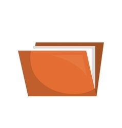 folder files archive icon vector image