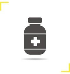 Painkiller icon vector