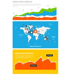 Elements of infographics stock vector