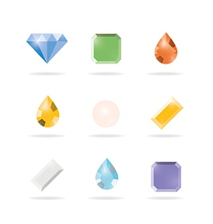Icon 9gems vector
