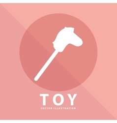 Toy icon vector