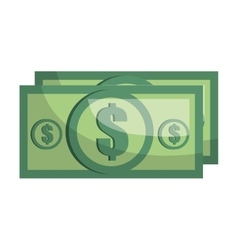 Money and business cartoon graphic design vector image