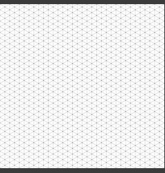 seamless black grid of cubes vector image vector image