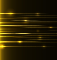 Yellow speed laser vector